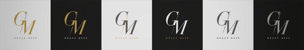 Déclinaisons logo Grace Meer
