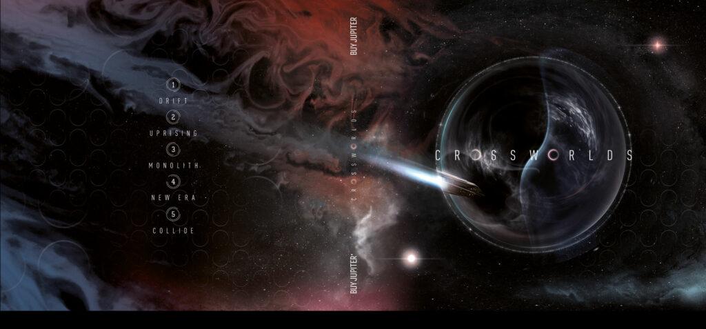 Crossworlds EP cover