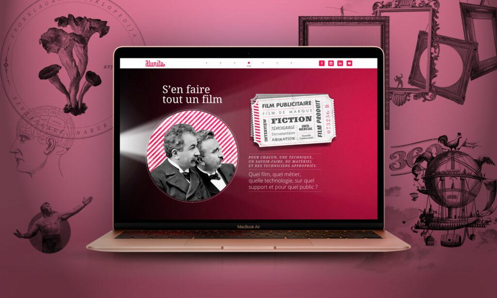 site Alunites production de films
