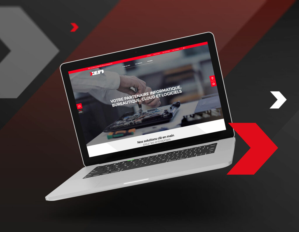 homepage site Xefi business