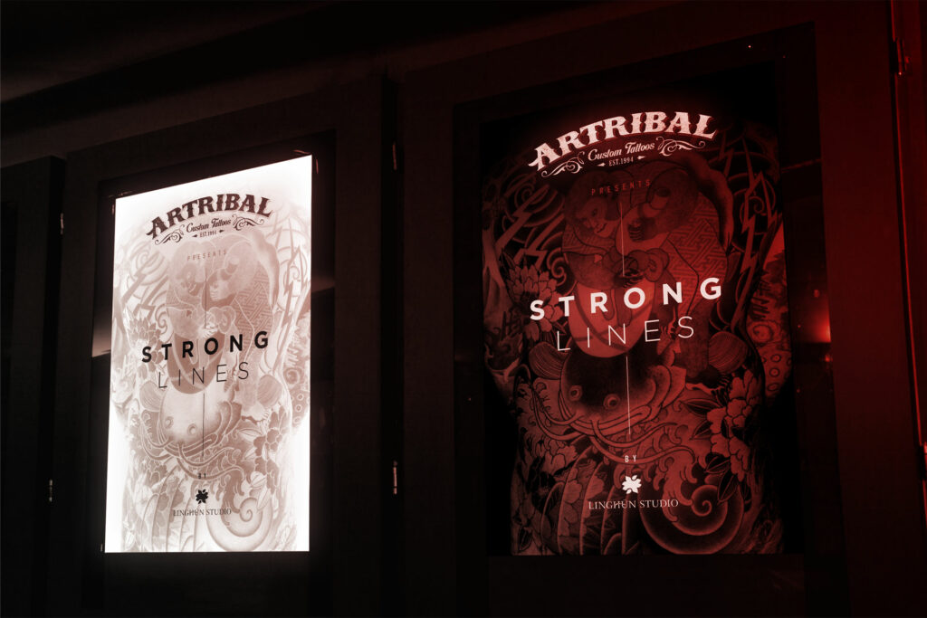affiches film Strong Lines