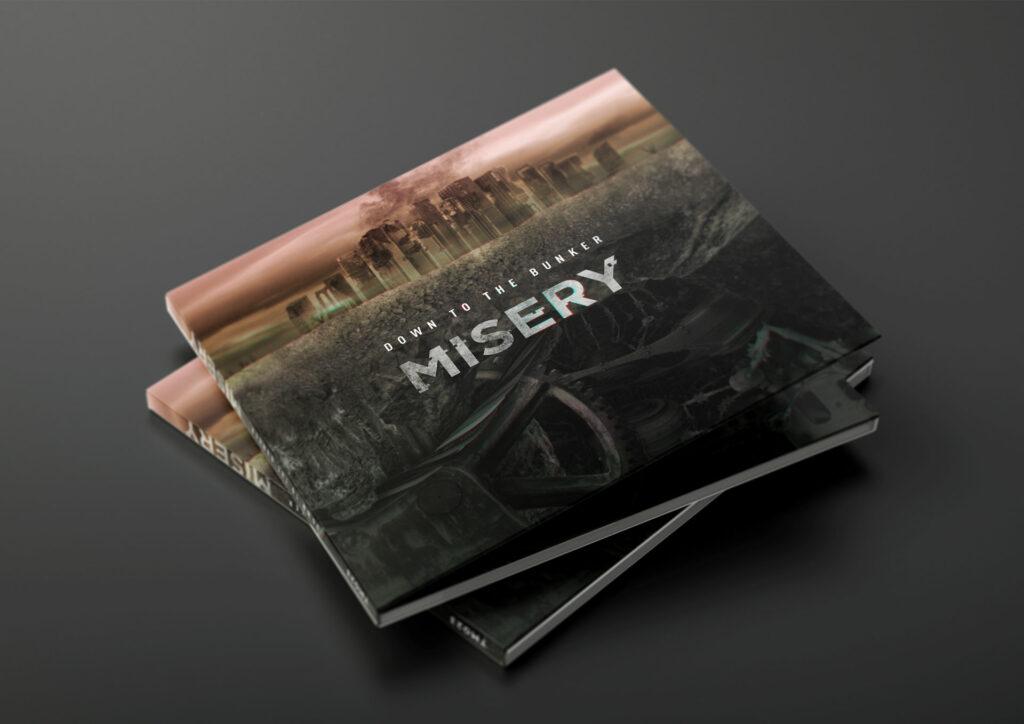 digipack 3 volets album Misery