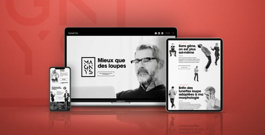 site responsive Magnys