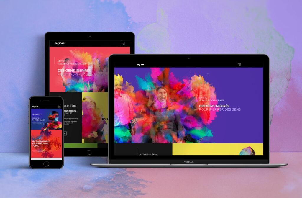 site responsive Ekno
