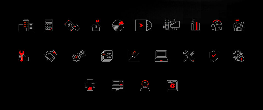 pictogrammes sites Xefi