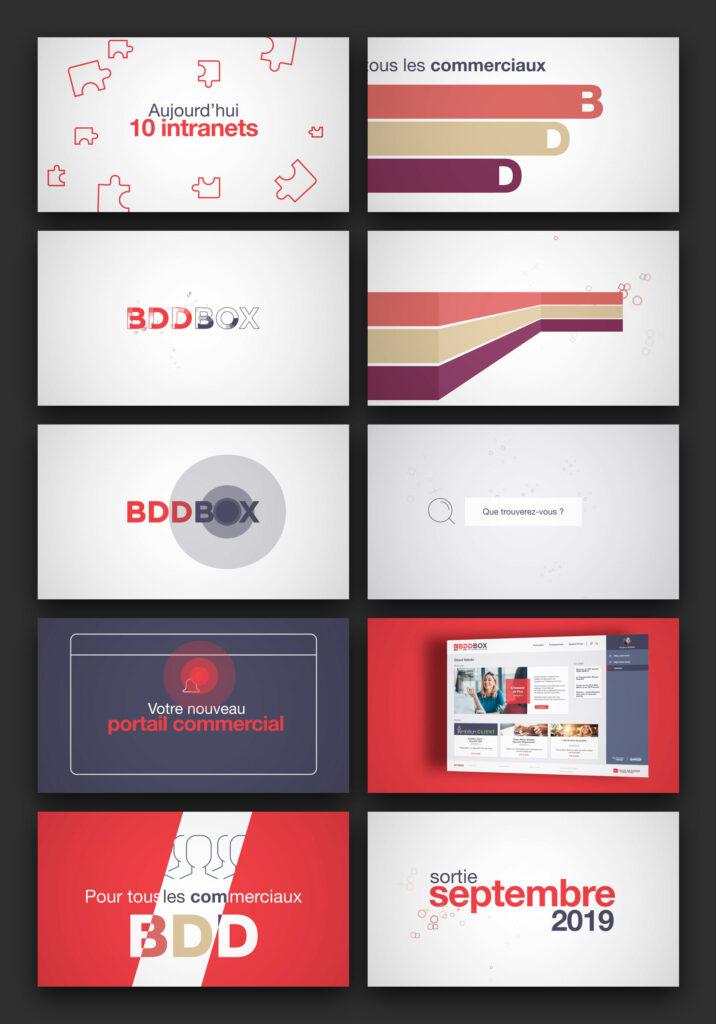 séquences motion design CERA BDDBOX