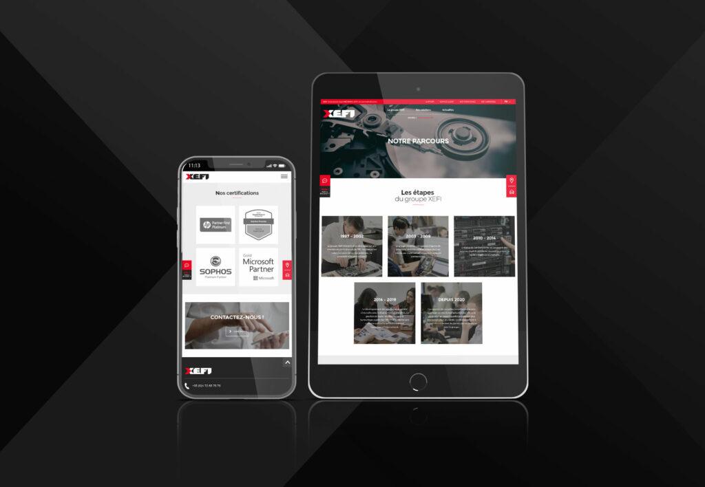 sites Xefi responsives