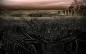 pochette de l'album Misery du groupe Down to the Bunker