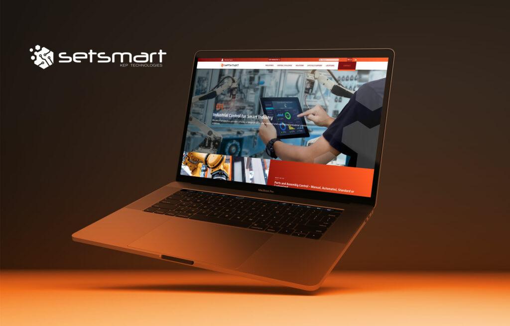 page d'accueil site Setsmart