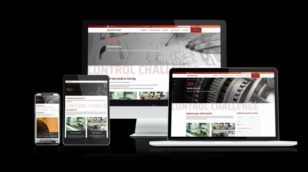 Setsmart site internet responsive
