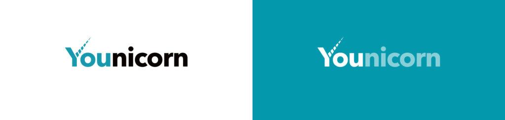 déclinaisons du logo Younicorn