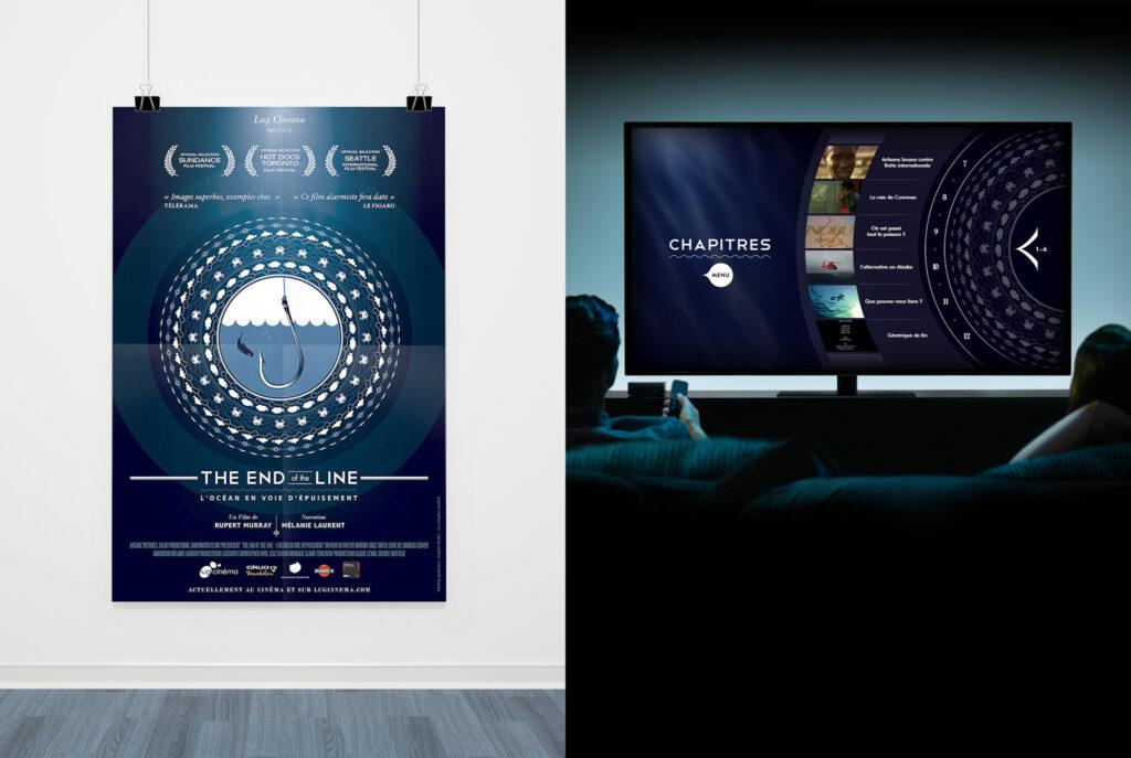 Affiche et menu DVD du film The End of the Line