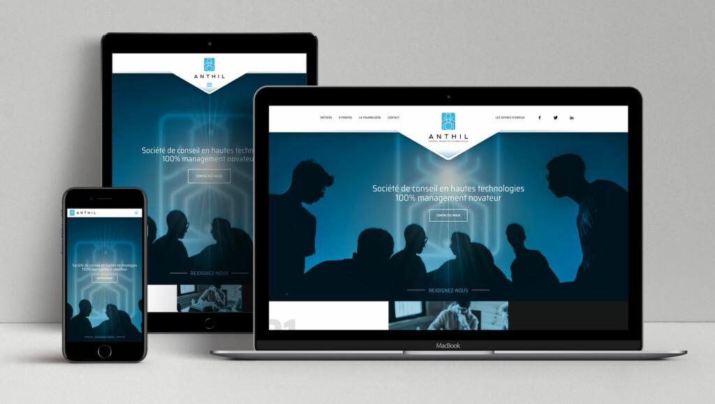 site responsive Anthil